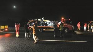 Velocidade excessiva em dia de chuva: As conclusões do inquérito da GNR e PJ sobre acidente de Sara Carreira