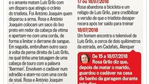 Cronologia do crime: O que diz o Supremo e a versão de Rosa Grilo