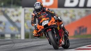 """Miguel Oliveira """"reencontrou"""" a sua mota após dois dias de testes em São Marino"""