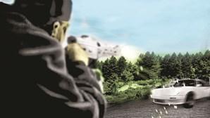 Lisboa palco de guerra de tráfico de droga com disparos de metralhadora contra viaturas