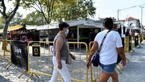 Vedações na Feira de S. Mateus em Viseu revoltam empresários