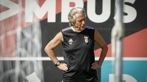 """Jorge Jesus vinca ambição de manter Benfica """"100% vitorioso"""" em Guimarães"""