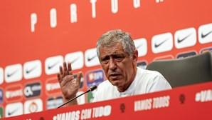Portugal cumpre último treino esta terça-feira antes de defrontar República da Irlanda