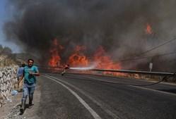 Incêndio na Turquia