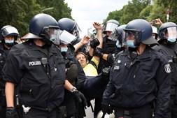 Protestos contra medidas da Covid-19 na Alemanha
