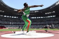 Auriol Dongmo a cinco centímetros do pódio nos Jogos Olímpicos