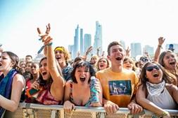 Festivaleiros no Lollapalooza