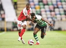 Nuno Mendes esteve em grande plano no jogo da Supertaça, diante do Sp. Braga, mas amanhã será baixa