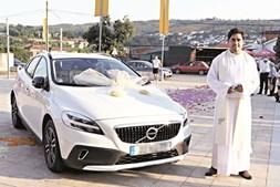 Volvo V60 oferecido a Edgar Leite