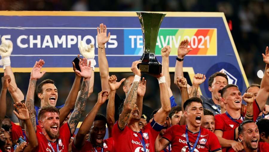 Lille conquista Supertaça de França