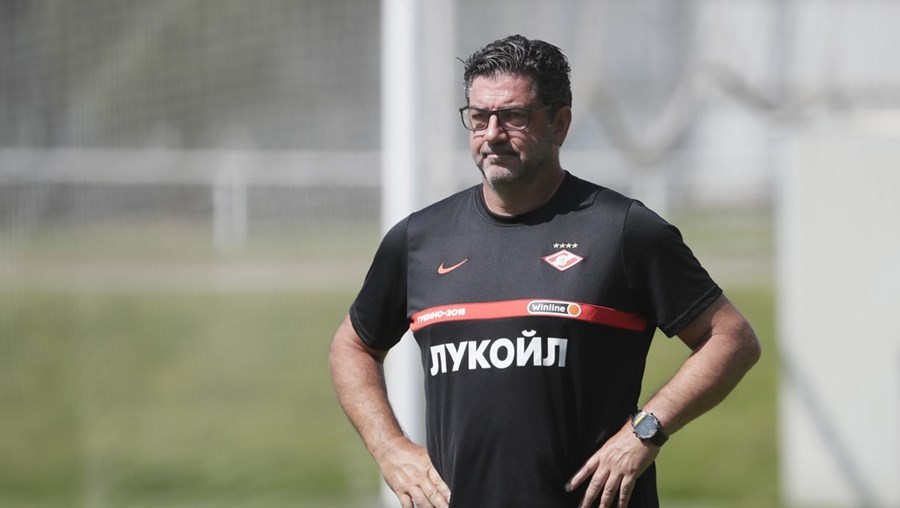 Rui Vitória , técnico do Spartak, orientou o Benfica entre 2015 e 2019