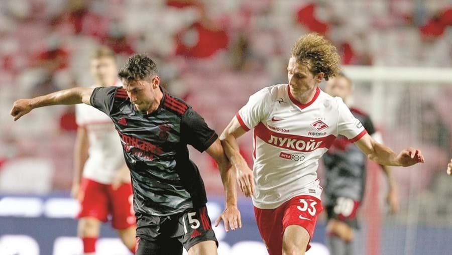Yaremchuk estreou-se com a camisola do Benfica
