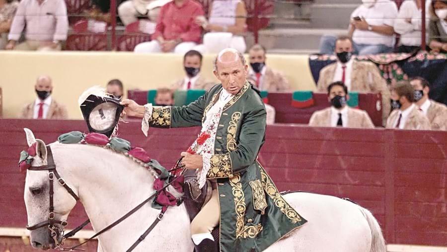 António Ribeiro Telles sofreu uma grave colhida no passado domingo, na praça de touros de Reguengos de Monsaraz
