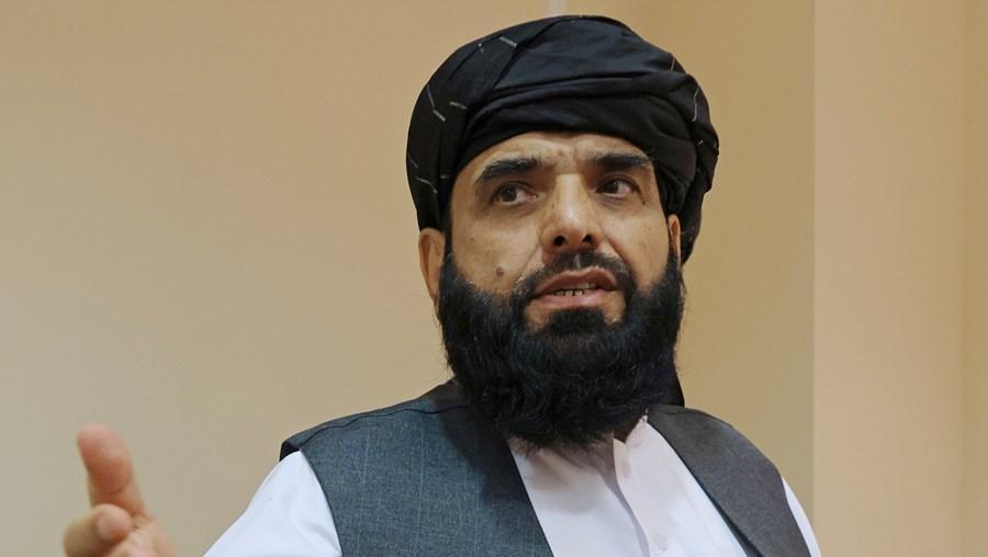 Suhail Shaheen, porta-voz dos talibãs