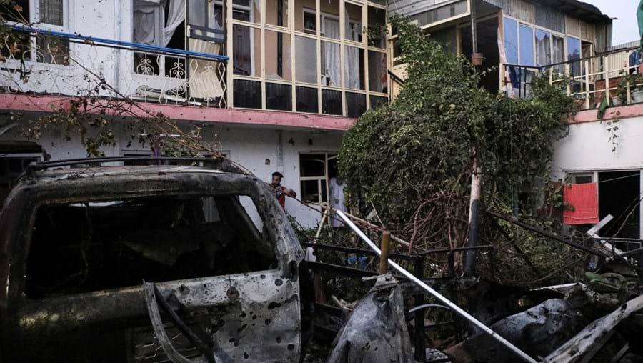 Explosões em Cabul