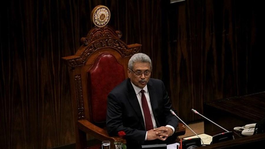 Presidente cingalês, Gotabaya Rajapaksa
