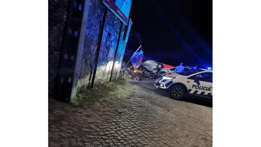Perseguição policial durante a madrugada termina com despiste em Viana do Castelo