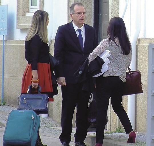 Miguel Vasconcelos, quando respondeu em tribunal