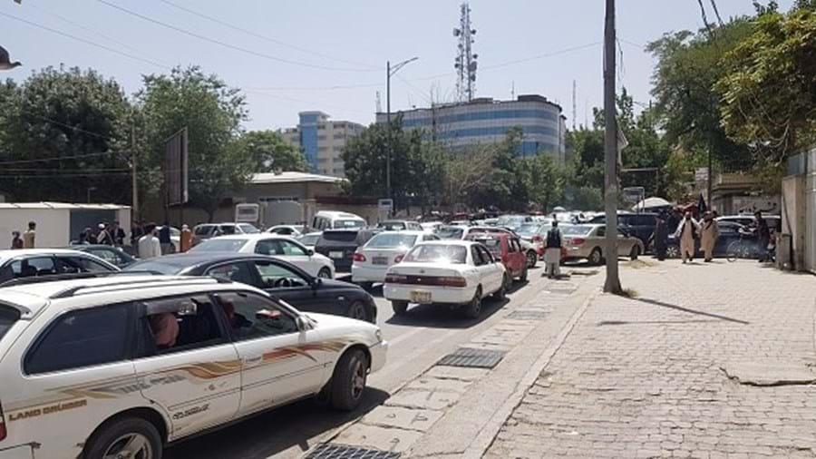 Talibãs entram em Cabul, Afeganistão