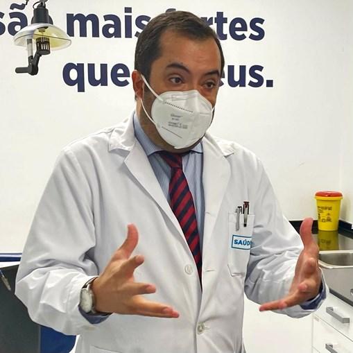 André Brandão de Almeida é médico dentista e diretor clínico do SOL