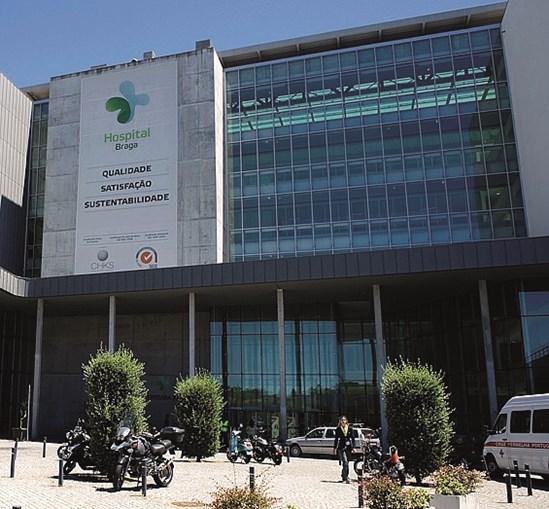 Hospital de Braga regista aumento