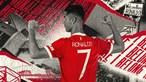 Cristiano Ronaldo vai utilizar a camisola 7 no Manchester United