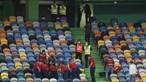 Adepto do Sporting que caiu de bancada durante clássico sofre fratura de um dos membros inferiores