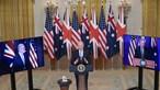EUA, Reino Unido e Austrália fazem aliança estratégica para travar a China