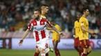 Sporting de Braga perde no terreno do Estrela Vermelha na estreia na Liga Europa