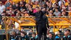 Wolverhampton, de Bruno Lage, volta a perder na Premier League