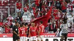 Benfica tenta manter registo perfeito em Guimarães e repor vantagem na I Liga