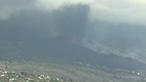 Cone do vulcão em La Palma colapsa parcialmente. Veja em direto