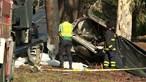 Fogo após despiste mata três pessoas no Montijo