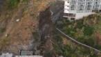 Derrocada causa três feridos ligeitos junto à praia da Formosa no Funchal