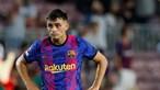 Pedri regressa aos eleitos do FC Barcelona para jogo na Luz, Jordi Alba de fora