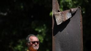 Viga que pertenceu às Torres Gémeas está em Vila Franca de Xira