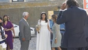 António Costa leva filha ao altar