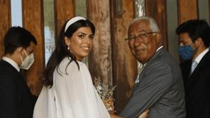 António Costa leva filha ao altar em dia emotivo