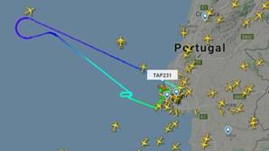 Voo da TAP aterra de emergência em Lisboa