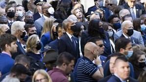 """Cerimónias de homenagem às vítimas do 11 de Setembro decorrem num """"lugar de memórias negras"""""""