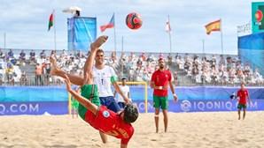 Portugal está na final da Liga Europeia de futebol de praia