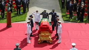 """Lágrimas e emoção no último adeus a Jorge Sampaio, o homem que """"nunca quis ser herói, mas foi"""""""