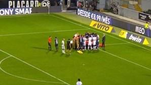 """""""Rochinha está estável. Foi um lance assustador"""", adianta treinador do V. Guimarães"""