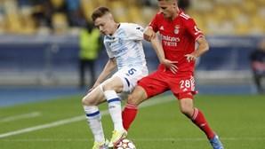 Benfica empata contra o Dínamo Kiev sem desfazer o nulo com últimos minutos tensos