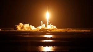 Astronautas amadores partiram esta noite para o espaço. Veja o lançamento da missão Inspiration4 da SpaceX