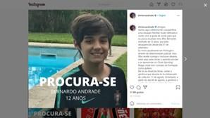 Guarda-redes da Seleção Nacional de futebol de praia diz que filho de 12 anos está desaparecido