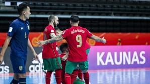 Portugal goleia Ilhas Salomão e está perto dos 'oitavos' do Mundial de futsal