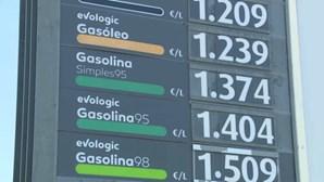 Preço dos combustíveis volta a subir na segunda-feira