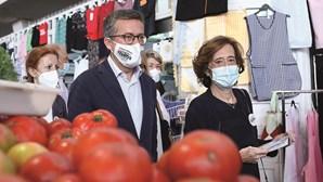 Ex-ministra Manuela Ferreira Leite dá força a Carlos Moedas