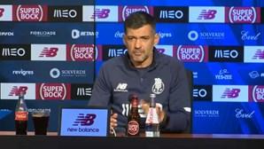 """Sérgio Conceição admite que deslocação a Barcelos """"será uma das mais difíceis do campeonato"""""""